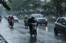 Chiều tối và đêm 1/8, mưa to và dông bao trùm các khu vực