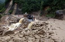 Đề phòng lũ quét, sạt lở đất và ngập úng tại Bắc Trung Bộ, Tây Nguyên