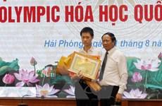 Hải Phòng: Trao thưởng học sinh giành Huy chương vàng Hóa học quốc tế