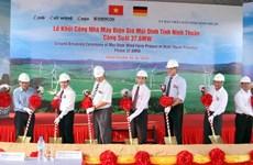 Doanh nghiệp Thái đầu tư 66 triệu USD vào nhà máy điện gió Mũi Dinh