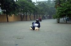 Mưa lớn diện rộng, ngập lụt sâu cục bộ tại nhiều địa phương