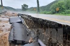 21 người thiệt mạng vì mưa lớn kéo dài một tuần tại Hàn Quốc