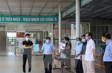 Quảng Nam: Hai bệnh nhân mắc COVID-19 đã được xuất viện