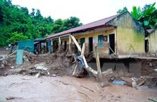 [Photo] Điện Biên: Mưa lũ gây thiệt hại nặng cho huyện Nậm Pồ