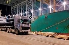 Sản lượng tăng đột biến, hơn 8 triệu tấn hàng thông qua Cảng Hòa Phát