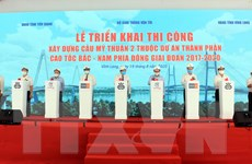 Vĩnh Long: Đầu tư trên 5.000 tỷ đồng thi công cầu Mỹ Thuận 2