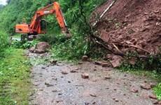 Cảnh báo lũ quét, sạt lở đất ở vùng núi ở khu vực Bắc Bộ