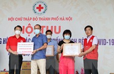 Hội Chữ thập đỏ Hà Nội chung tay hỗ trợ người dân và lực lượng y tế