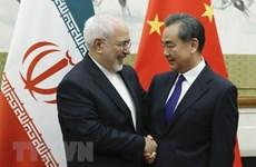 Iran và Trung Quốc bắt đầu thúc đẩy quan hệ đối tác chiến lược