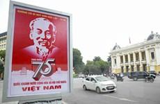 [Photo] Hà Nội chào mừng 75 năm Cách mạng tháng Tám và Quốc khánh 2/9