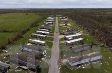 Mỹ: 14 người thiệt mạng sau khi bão Laura đổ bộ các bang miền Nam