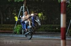 Hà Nội: Bắt giữ nhóm đối tượng phóng xe máy lạng lách, gây rối trật tự