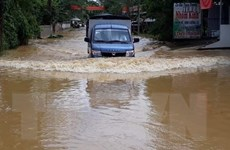 Yên Bái: Mưa lớn tiếp tục gây ngập lụt tại huyện Lục Yên