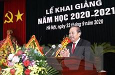 Phó Thủ tướng Trương Hòa Bình dự lễ khai giảng Học viện Quốc phòng