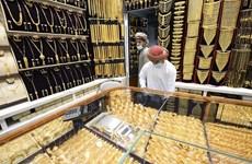 Giá vàng thế giới phiên 22/9 tiếp tục giảm trong khi đồng USD tăng