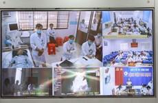 Bệnh viện Chợ Rẫy kết nối với 300 điểm cầu khám chữa bệnh từ xa