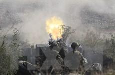 Lính Nga thực hành đổ bộ và chống đổ bộ trong cuộc tập trận Kavkaz