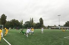 Giải bóng đá Thượng viện Séc giúp kiều bào nâng cao tinh thần hòa nhập