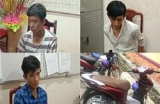 Bình Phước: Tạm giữ 3 đối tượng chặn đường cướp xe máy của công nhân