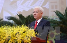Ông Nguyễn Văn Lợi tái đắc cử chức Bí thư Tỉnh ủy Bình Phước