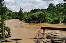 Đắk Lắk: Một người bị nước lũ cuốn trôi mất tích ở huyện Ea Súp