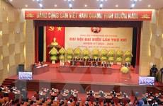 [Photo] Khai mạc Đại hội đại biểu Đảng bộ thành phố Hải Phòng lần XVI