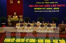 [Photo] Khai mạc Đại hội đại biểu Đảng bộ tỉnh Long An lần thứ XI