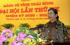 [Photo] Đại hội đại biểu Đảng bộ tỉnh Thái Bình lần thứ XX