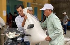 Kịp thời cấp phát gạo cứu đói cho nhân dân vùng thiên tai Ninh Thuận