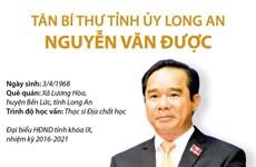 [Infographics] Tân Bí thư Tỉnh ủy Long An Nguyễn Văn Được