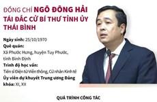 [Infographics] Ông Ngô Đông Hải tái đắc cử Bí thư Tỉnh ủy Thái Bình
