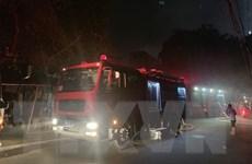 Hà Nội: Cứu nạn kịp thời 5 người mắc kẹt trong đám cháy