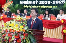 Ông Lê Quang Tùng tái đắc cử chức Bí thư Tỉnh ủy Quảng Trị