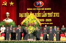 Khai mạc Đại hội đại biểu Đảng bộ tỉnh Hà Giang lần XVII