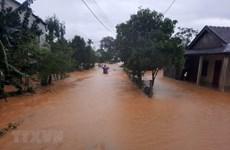 Lũ trên các sông từ Nghệ An đến Quảng Trị, Quảng Ngãi tiếp tục lên