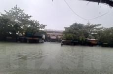 Lũ trên các sông tại Hà Tĩnh, Quảng Bình, Thừa-Thiên Huế đang xuống