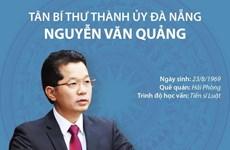 [Infographics] Tân Bí thư Thành ủy Đà Nẵng Nguyễn Văn Quảng