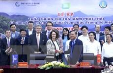Việt Nam-WB ký Thỏa thuận chi trả giảm phát thải vùng Bắc Trung Bộ