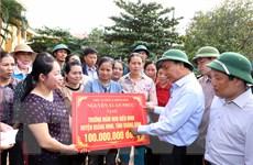 Thủ tướng kiểm tra công tác khắc phục hậu quả lũ lụt tại Quảng Bình