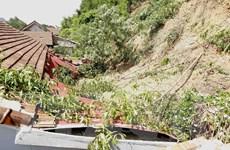 Quảng Bình: Sạt lở nghiêm trọng gây mất an toàn cho gần 20 hộ dân