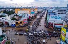 Ngập lụt do triều cường ở miền Tây: Quy luật . . . 'đến hẹn lại ngập'