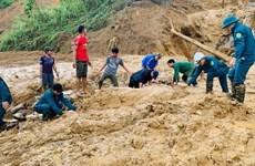 Quảng Nam: Lũ quét cản trở việc tìm kiếm, cứu nạn ở huyện Phước Sơn