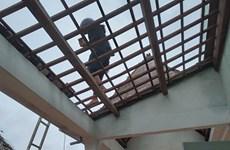 Hà Tĩnh: Lốc xoáy làm hàng chục ngôi nhà của dân bị tốc mái