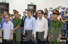 Hai bị cáo nguyên lãnh đạo BIDV lĩnh án 8 năm và 6 năm 6 tháng tù giam