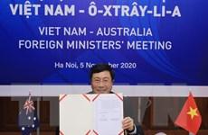 Hội nghị Bộ trưởng Ngoại giao thường niên Việt Nam-Australia lần hai