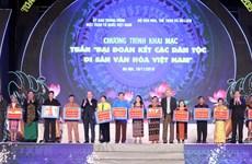 Tuần lễ Đại đoàn kết các dân tộc - Di sản Văn hóa Việt Nam năm 2020