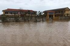 Nhiều nơi ở tỉnh Thừa Thiên-Huế vẫn bị ngập úng nặng do mưa bão