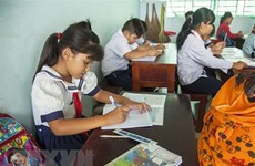 Những tiết học tràn đầy niềm vui, hứng khởi của học trò nghèo vùng sâu