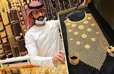 Giá vàng trên thị trường thế giới giảm gần 1% trong tuần qua