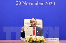Thủ tướng Nguyễn Xuân Phúc thông qua Tầm nhìn APEC Putrajaya 2040